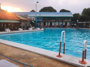 học bơi tại hồ bơi gió bắc
